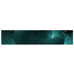 Teal Heart Flano Scarf (small)