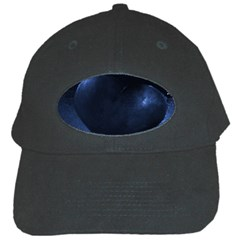 Blue Heart Collection Black Cap