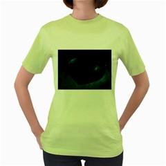 Blue Heart Collection Women s Green T-Shirt