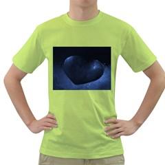 Blue Heart Collection Green T Shirt