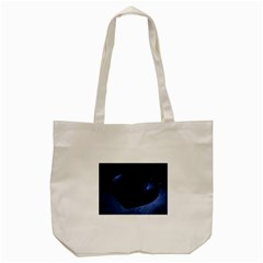 Blue Heart Collection Tote Bag (Cream)