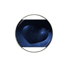 Blue Heart Collection Hat Clip Ball Marker (4 Pack)