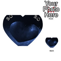 Blue Heart Collection Playing Cards 54 (Heart)