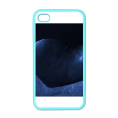 Blue Heart Collection Apple Iphone 4 Case (color)