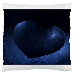 Blue Heart Collection Large Cushion Cases (one Side)