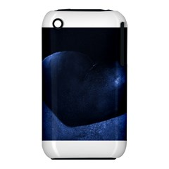 Blue Heart Collection Apple Iphone 3g/3gs Hardshell Case (pc+silicone)