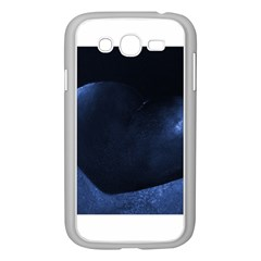 Blue Heart Collection Samsung Galaxy Grand Duos I9082 Case (white)