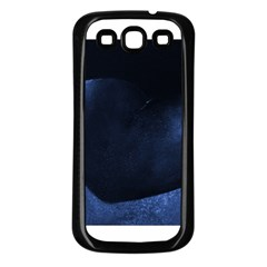 Blue Heart Collection Samsung Galaxy S3 Back Case (black)