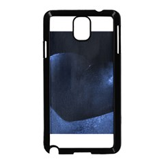 Blue Heart Collection Samsung Galaxy Note 3 Neo Hardshell Case (black)