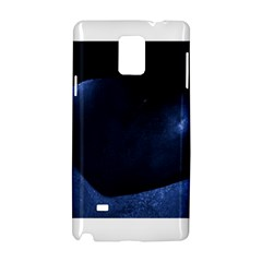 Blue Heart Collection Samsung Galaxy Note 4 Hardshell Case