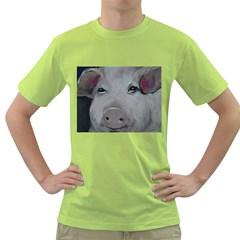 Piggy No. 1 Green T-Shirt