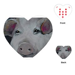 Piggy No. 1 Playing Cards (Heart)