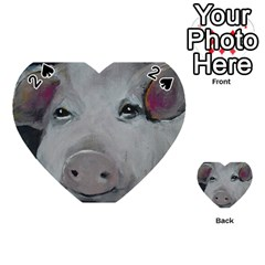 Piggy No. 1 Playing Cards 54 (Heart)