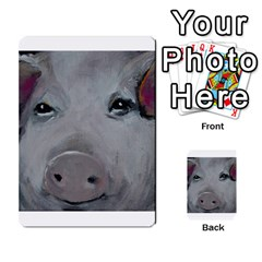 Piggy No  1 Multi Purpose Cards (rectangle)