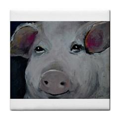 Piggy No  1 Face Towel