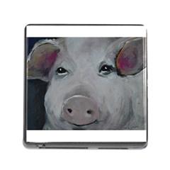 Piggy No  1 Memory Card Reader (square)