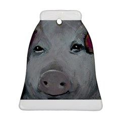Piggy No. 1 Bell Ornament (2 Sides)