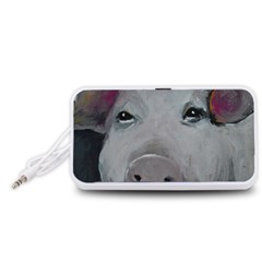 Piggy No. 1 Portable Speaker (White)