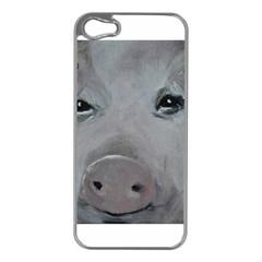 Piggy No  1 Apple Iphone 5 Case (silver)