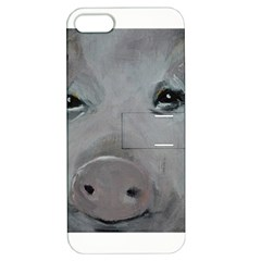 Piggy No  1 Apple Iphone 5 Hardshell Case With Stand