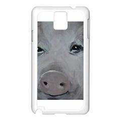 Piggy No  1 Samsung Galaxy Note 3 N9005 Case (white)