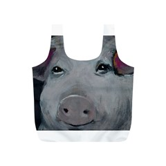 Piggy No  1 Full Print Recycle Bags (s)