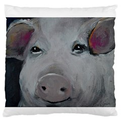 Piggy No  1 Standard Flano Cushion Cases (two Sides)