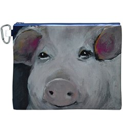 Piggy No. 1 Canvas Cosmetic Bag (XXXL)