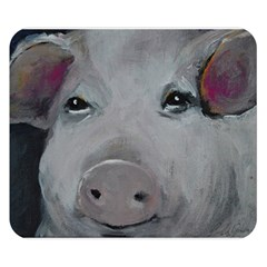 Piggy No. 1 Double Sided Flano Blanket (Small)