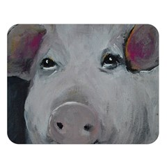 Piggy No. 1 Double Sided Flano Blanket (Large)