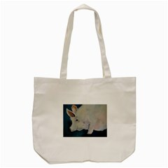 Piggy No  2 Tote Bag (cream)