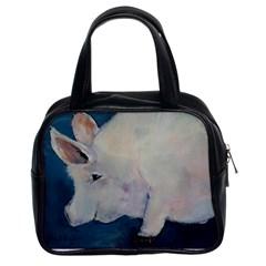 Piggy No  2 Classic Handbags (2 Sides)