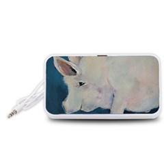 Piggy No. 2 Portable Speaker (White)