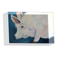 Piggy No. 2 4 x 6  Acrylic Photo Blocks