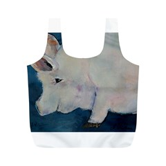 Piggy No  2 Full Print Recycle Bags (m)