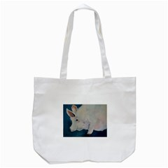 Piggy No  2 Tote Bag (white)