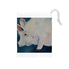 Piggy No  2 Drawstring Pouches (medium)