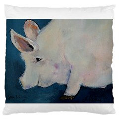 Piggy No. 2 Standard Flano Cushion Cases (One Side)