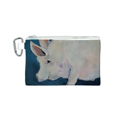 Piggy No. 2 Canvas Cosmetic Bag (S)