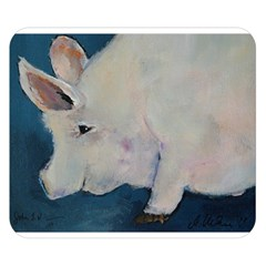 Piggy No  2 Double Sided Flano Blanket (small)