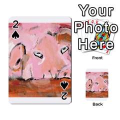 Piggy No 3 Playing Cards 54 Designs