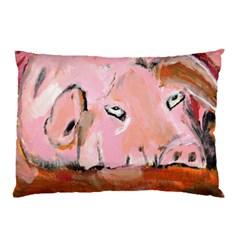 Piggy No 3 Pillow Cases