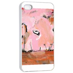 Piggy No 3 Apple Iphone 4/4s Seamless Case (white)
