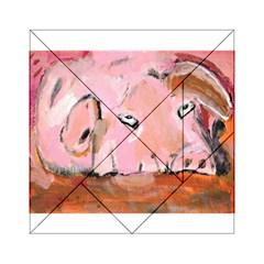 Piggy No.3 Acrylic Tangram Puzzle (6  x 6 )