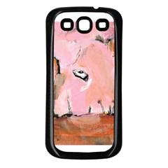 Piggy No 3 Samsung Galaxy S3 Back Case (black)