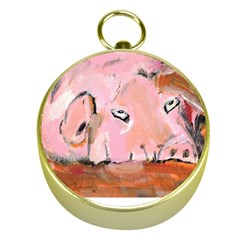 Piggy No.3 Gold Compasses