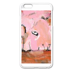 Piggy No.3 Apple iPhone 6 Plus Enamel White Case