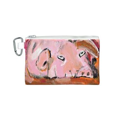 Piggy No.3 Canvas Cosmetic Bag (S)