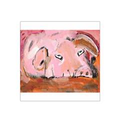 Piggy No.3 Satin Bandana Scarf