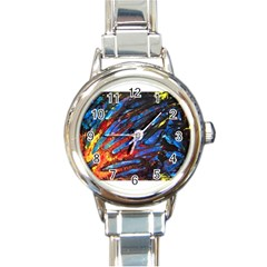 The Looking Glas Round Italian Charm Watches